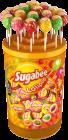 SUGABEE +Bubble Gum Lolipop